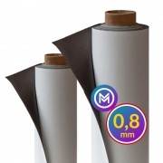 Rolo Imã Manta Magnética 0,8mm Vinílica- 61cm Largura