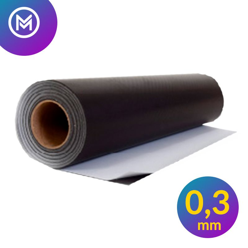 Rolo Imã Manta Magnética 0,3mm Adesivada - 31cm Largura  - INFINITY PLACE
