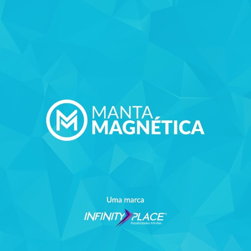 Rolo Imã Manta Magnética Natural 0,4mm - 31cm Largura   - INFINITY PLACE
