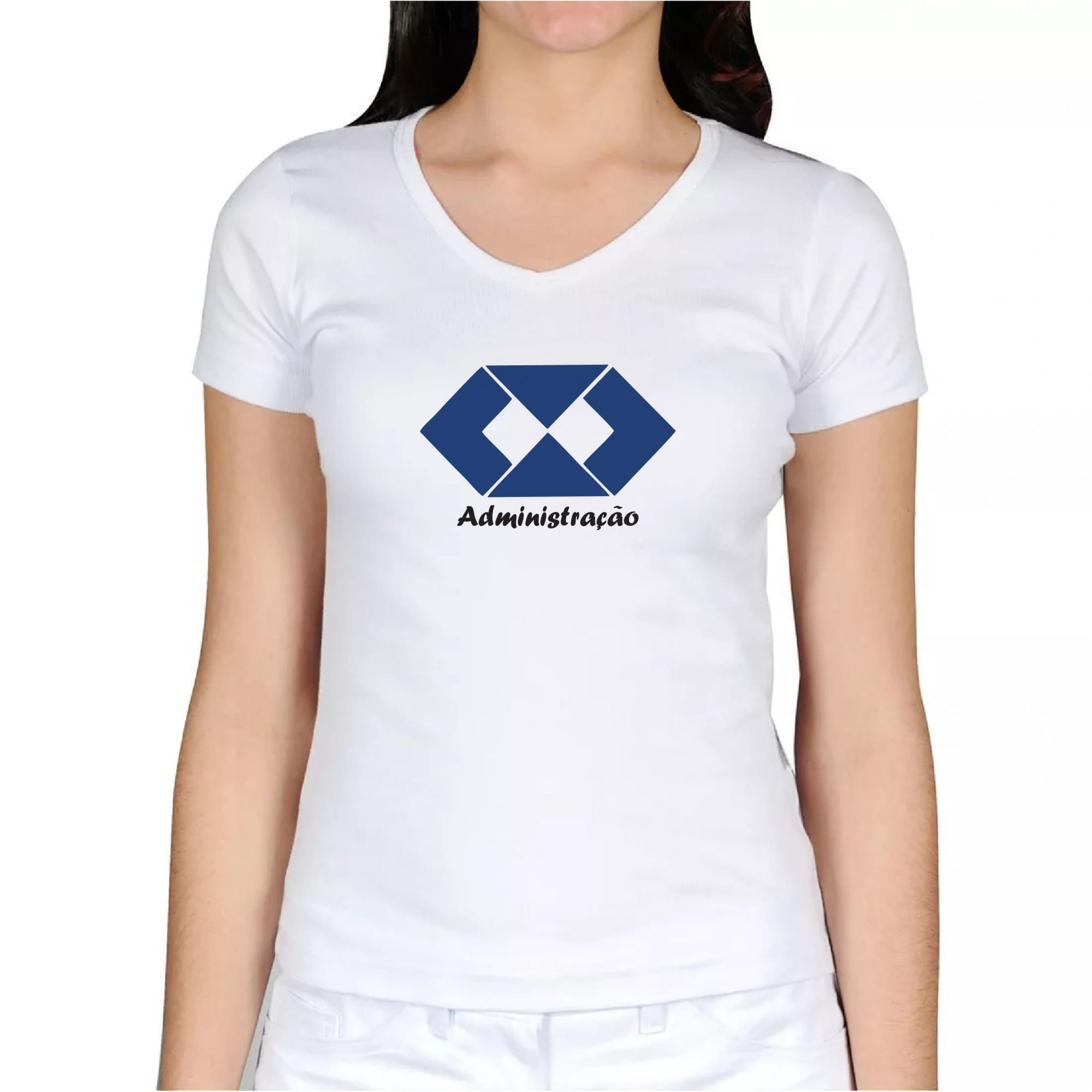93bf7c7bbb Camiseta Baby Look Curso Administração - ADM 2021 - Cekock A Marca ...