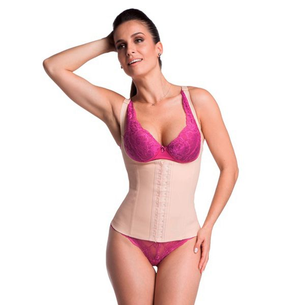 add82af76 CORSELET MODELADOR EMBORRACHADO BODY SHAPER - SANTALE MODELADORES