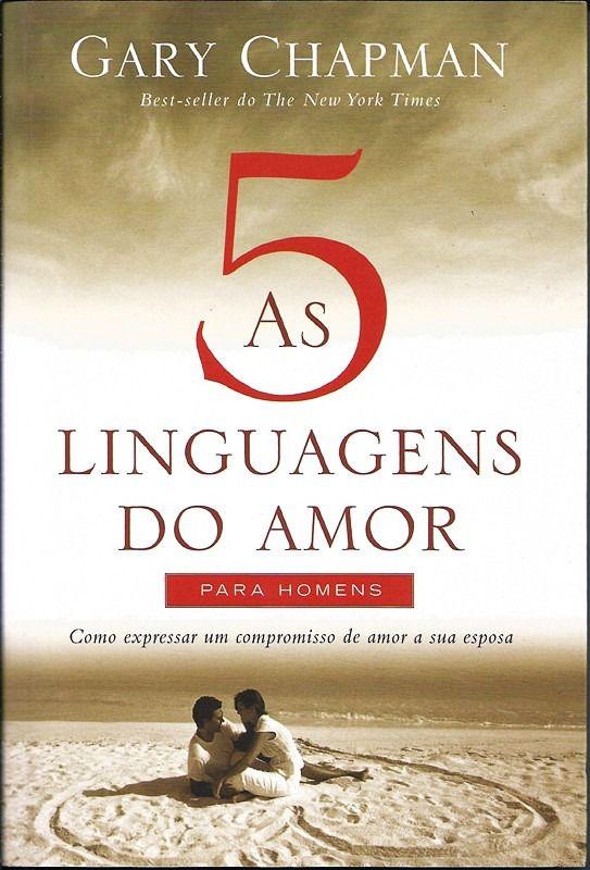 Livro - As 5 linguagens do amor para homens  - PAROLE EDITORA