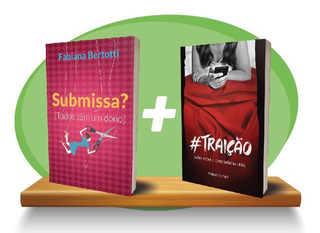Livro Combo - Submissa? + Traição  - PAROLE EDITORA