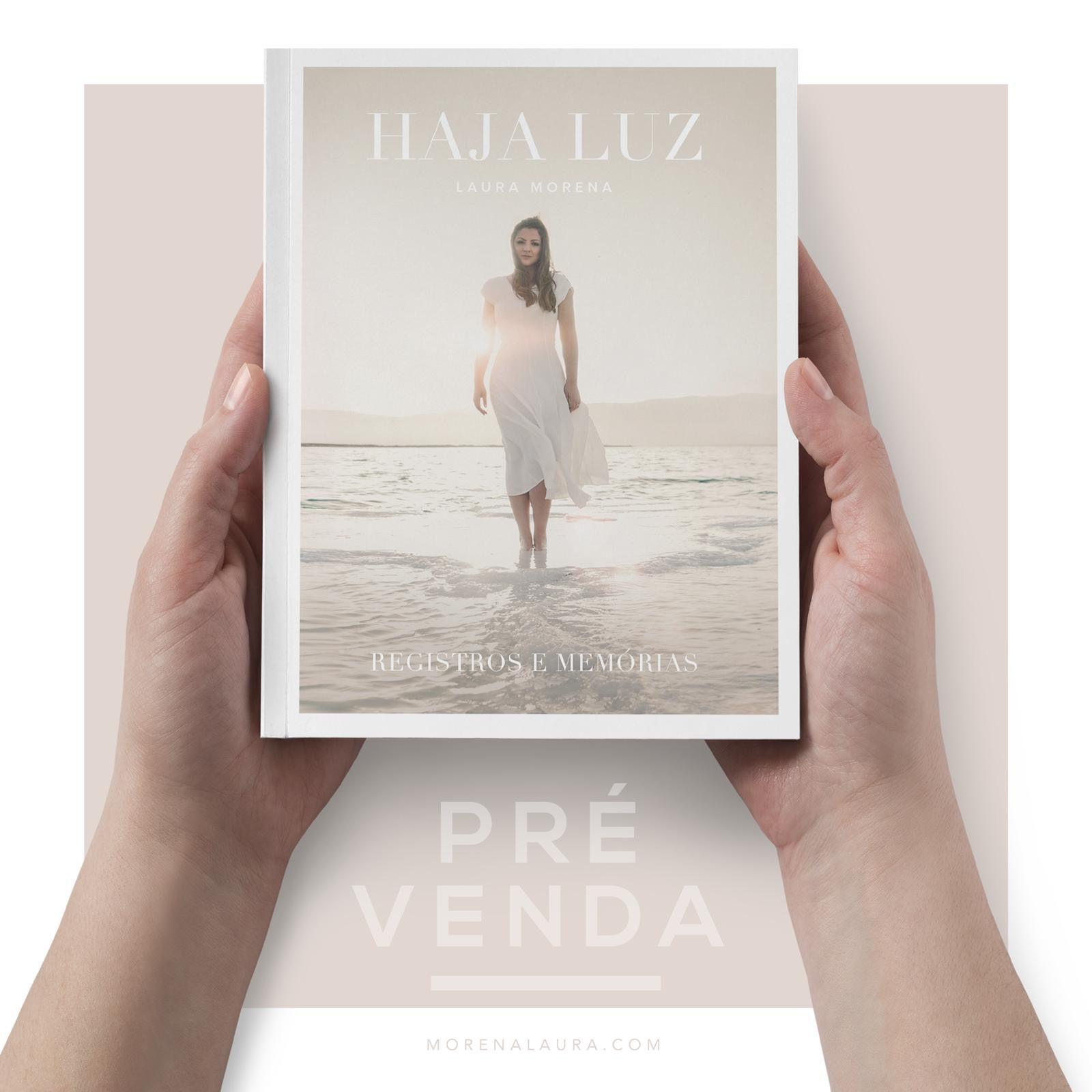 Livro Haja Luz, Registros e Memórias - Laura Morena - PROMO ONLINE  - PAROLE EDITORA