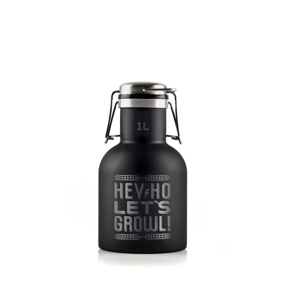 Growler Inox 1L - Hey Ho!