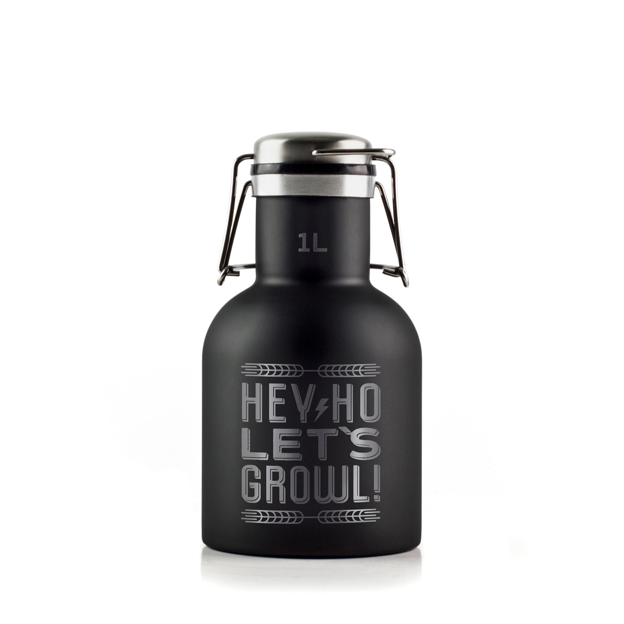 Growler Inox 1L - Hey Ho!