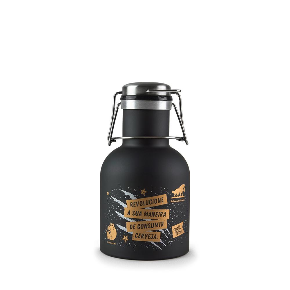 Growler Inox 1L  - Make Beer