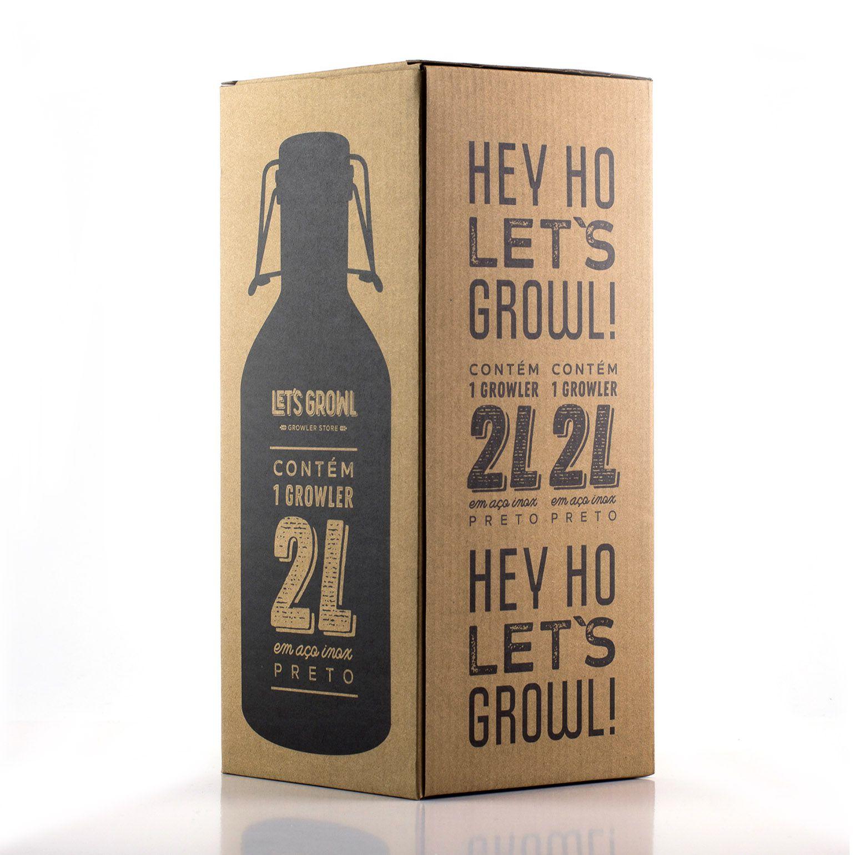 Growler Inox 2L - Hey Ho!
