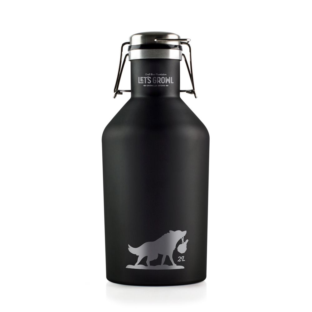 Growler Inox 2L - Lobo
