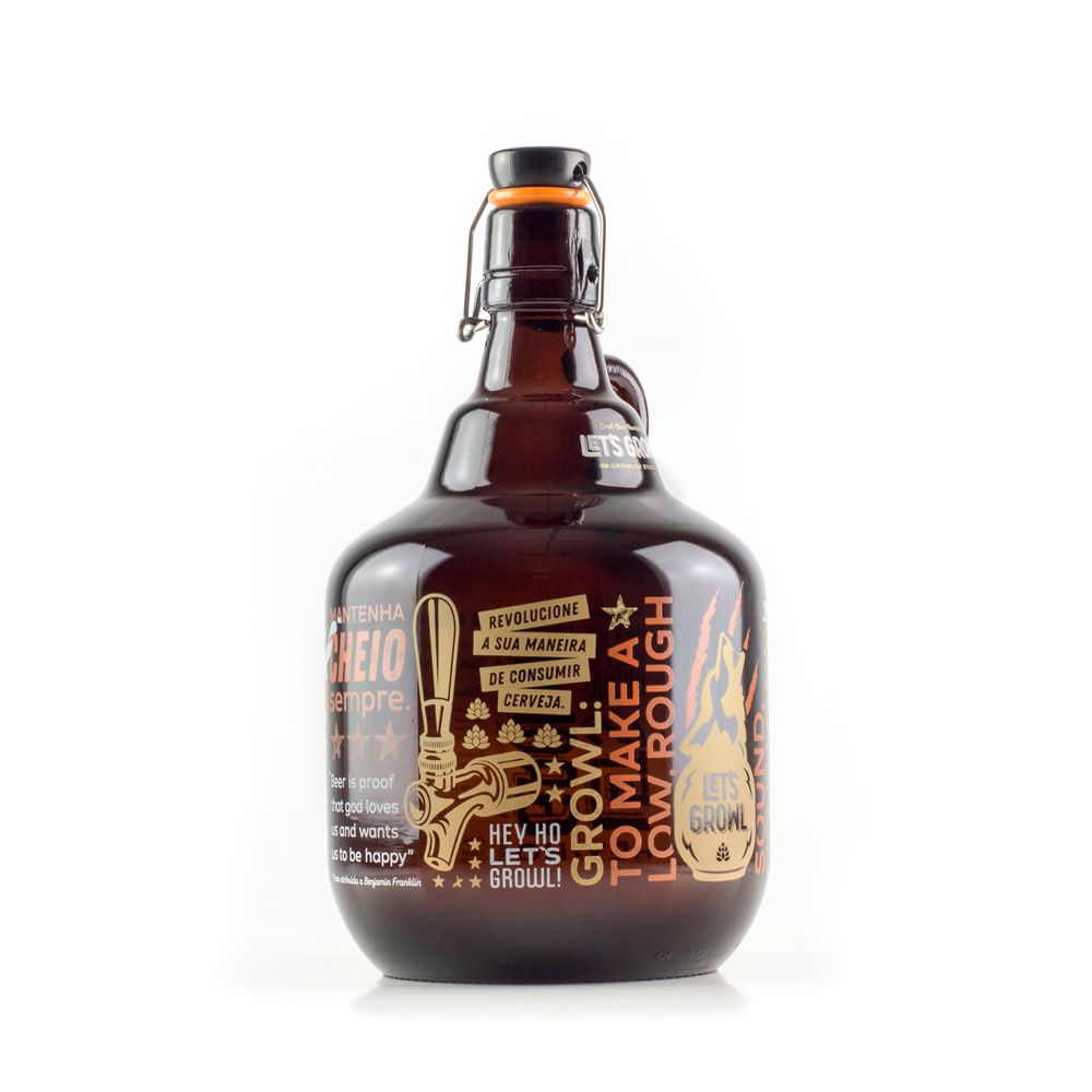 Growler Vidro 2L - Growl