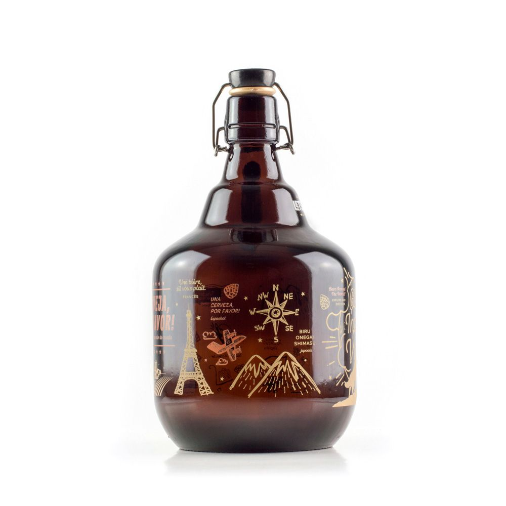 Growler Vidro 2L - Into the World