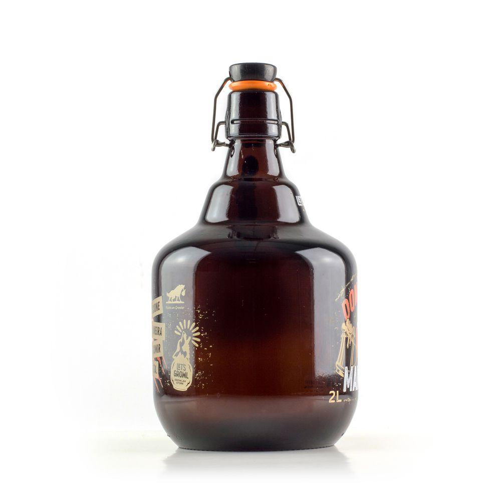 Growler Vidro 2L - Make Beer