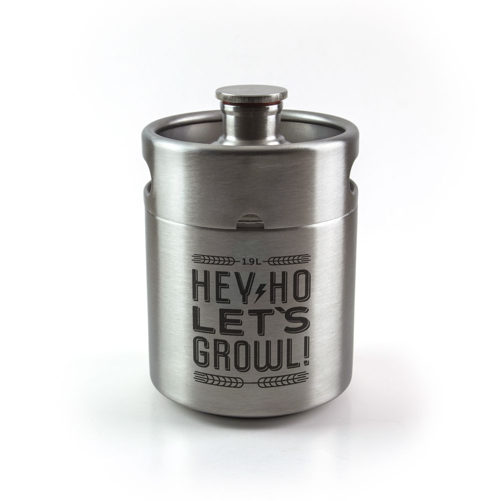 Mini Keg 1,9L - Hey Ho, Let`s Growl!