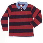 Camisa Polo Bordô Esporte Fino