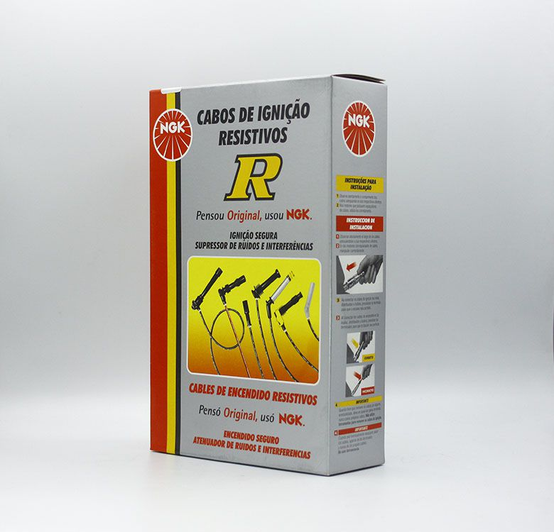 CABO IGNICAO VOLKSWAGEN FUSCA BRASILIA KOMBI NGK STV12