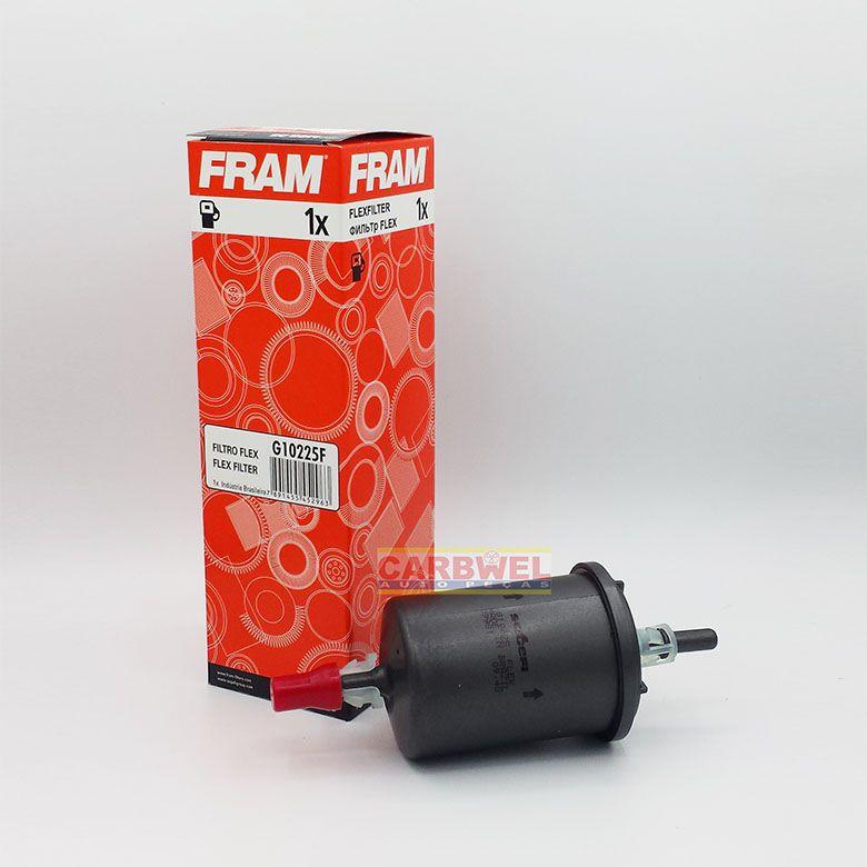 Filtro de Combustível - Fiat BRAVA PALIO LINEA GM CELTA CORSA CLASSIC Honda CIVIC FIT CITY... G10225F FRAM