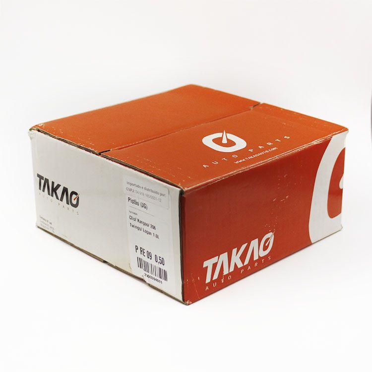 Jogo de Pistão do Motor Gasolina Renault CLIO TWINGO Peugeot 206 1.0 16v... TAKAO PRE09 050