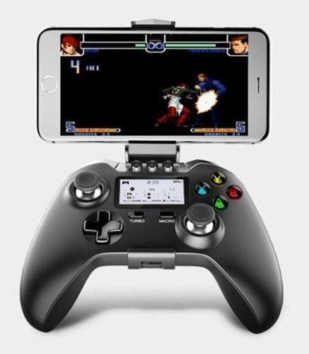 Joystick Ipega 9063 Lcd Preto Wireless Para Android & iOS
