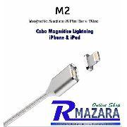 Cabo Lightning Magnético Para Iphone & Ipad Cabo 8 Pinos