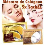 Máscara de Colágeno Crystal Eye com 5 Sachês