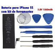 Bateria Iphone 5s Com Kit Ferramentas 3.8v 1560mah