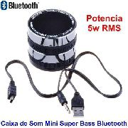 Mini Caixa De Som Super Bass 3w Bluetooth MicroSD