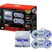 Console Super Nintendo Classic Edition com 2 Controles e 21 Jogos