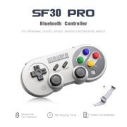 Controle Joystick 8bitdo Sf30 Pro Bluetooth com Holder