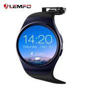 Relógio Smart Watch LEMFO KW18 LCD 1,3 pol. Preto