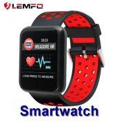 Smartwatch LEMFO Sport IP67 com Monitor Cardíaco