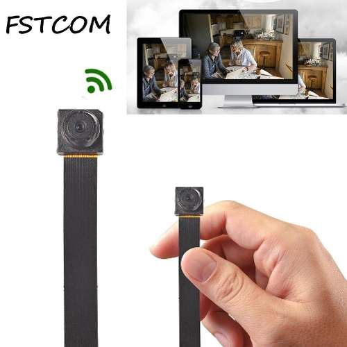 Micro Câmera Espiã IP Wifi Espionagem com MicroSD 16gb