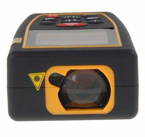 Trena Digital À Laser 40 Metros Calculo Área Volume Memória