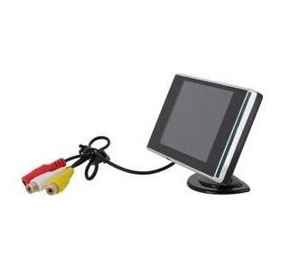 Monitor Veicular 3,5 Polegadas com 2 Entradas De Vídeo