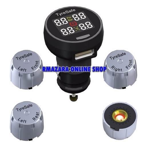Sensor de Pressão de Pneu e Medidor de Temperatura Universal
