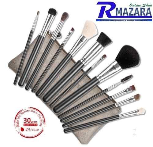 Kit Pincel De Maquiagem 12 Peças Profissional Du Care