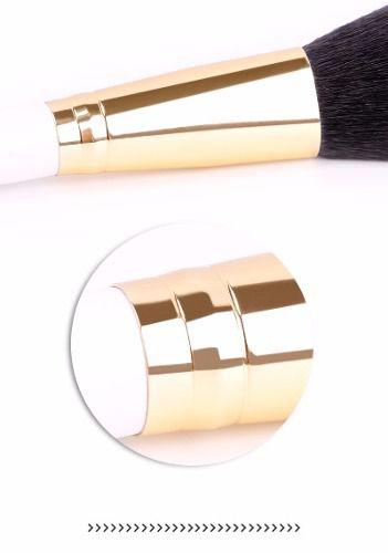 Kit Pincel De Maquiagem Profissional 8 Peças Du Care