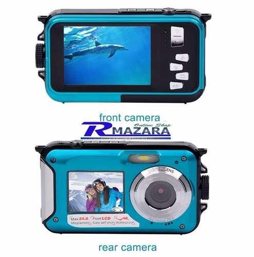 Camera Digital Aquática Full HD 24 mpx 16 Zoom Digital