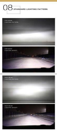 Lâmpada Super LED Automotiva Hb4 9006 Crystal Eye Super Branca
