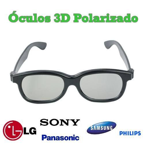 Óculos 3D Universal Lg, Sony, Samsung, Philips, Toshiba
