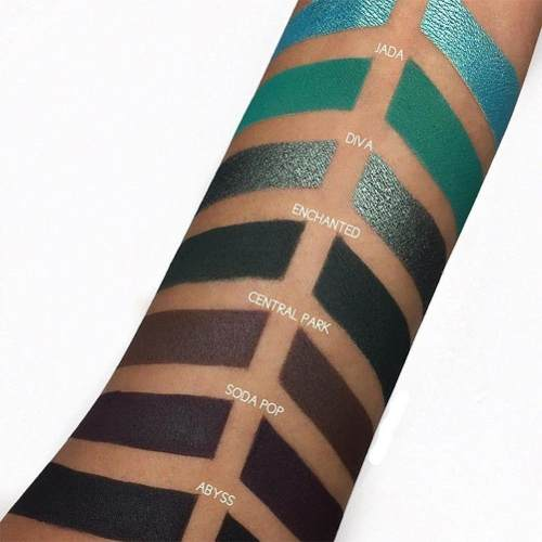Paleta De Sombra Com 35 Cores Eyeshadown Matte Cintilante