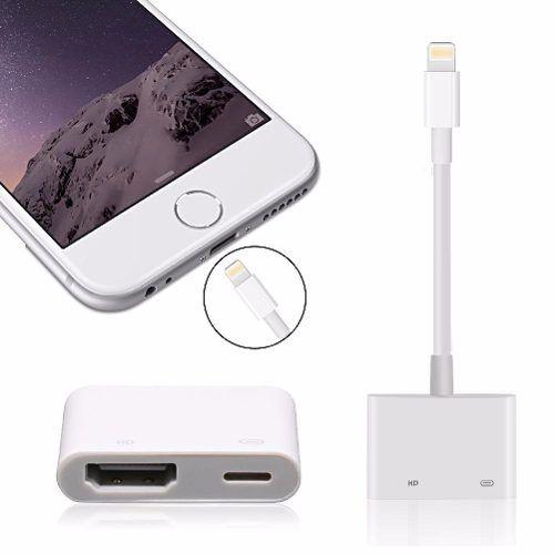 Adaptador Digital Lightning Para Hdmi Iphone / iPad / iPod