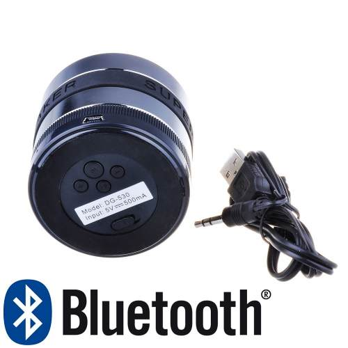 Mini Caixa De Som Super Bass 3w Bluetooth MicroSD