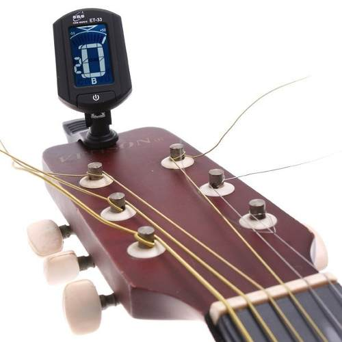 Afinador Digital Guitarra Baixo Violino Digital Tuner