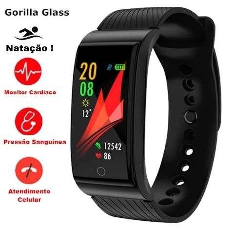 Relógio Smartwatch Bracelet Prova D'água Monitor Cardíaco