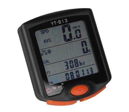 Velocimetro Bicicleta Bogeer Yt-813 Com Iluminação