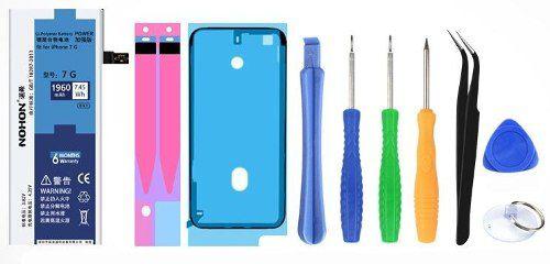 Bateria Iphone 7 Com Kit Ferramentas 3.82v 1960mah Nohon