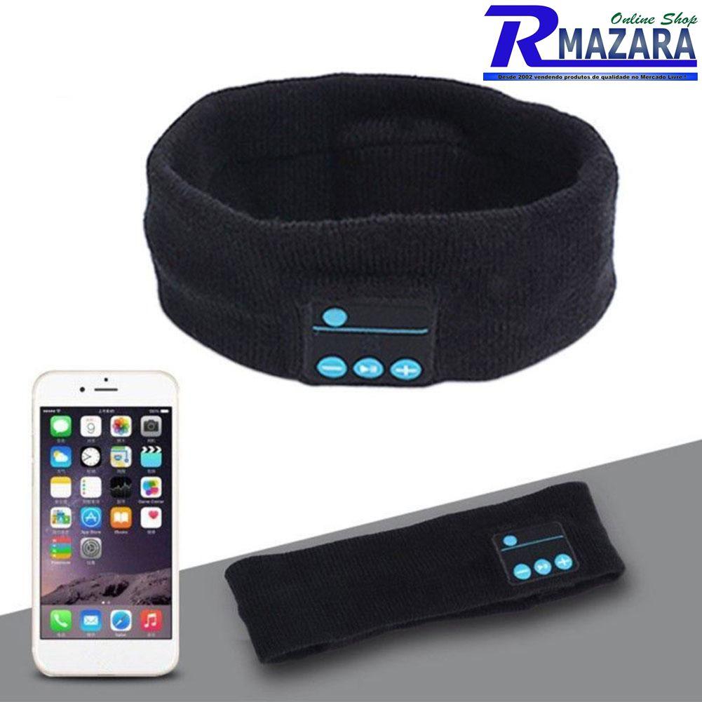 Faixa De Cabeça Cabelo Esporte Auto Falantes Bluetooth EDR