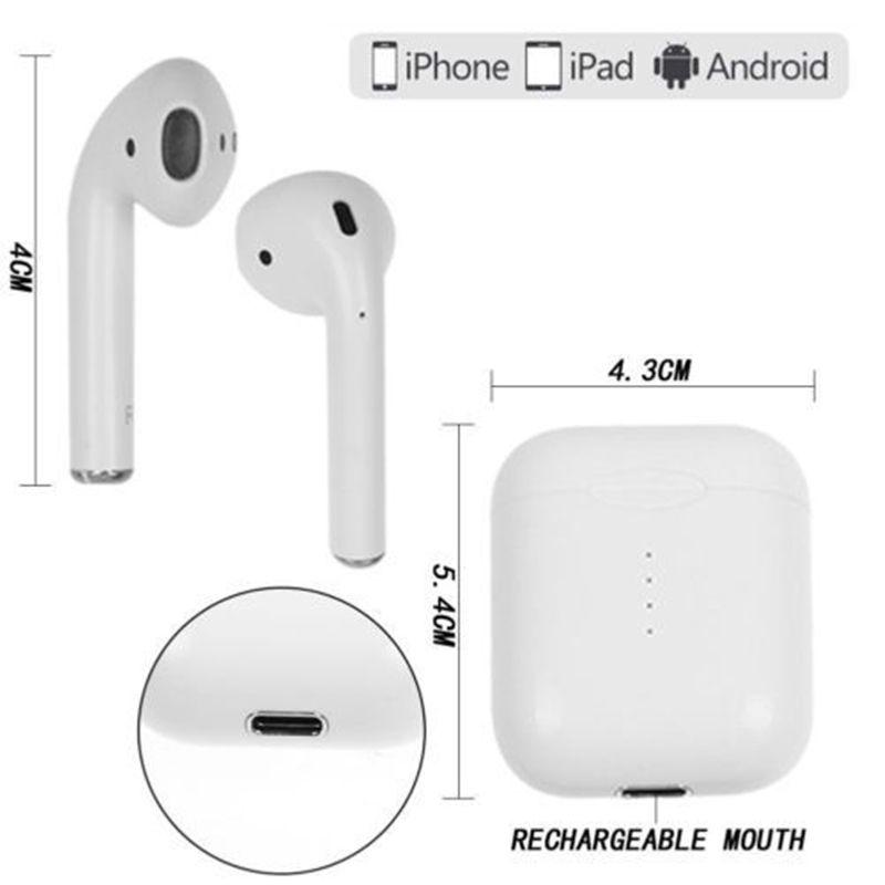 Fone de Ouvido TWS I10 Bluetooth 5.0 com função de gestos