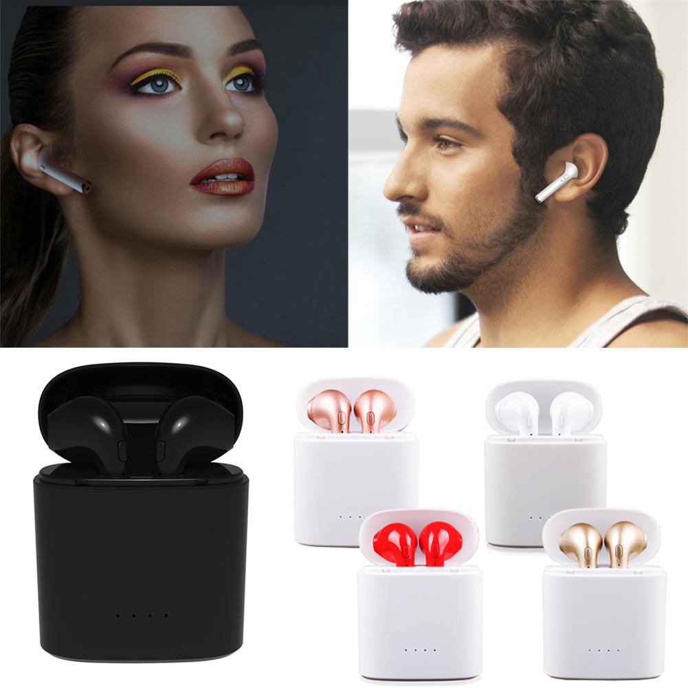 Fone Ouvido Bluetooth Tws Hbq I7s Airpods Android Iphone