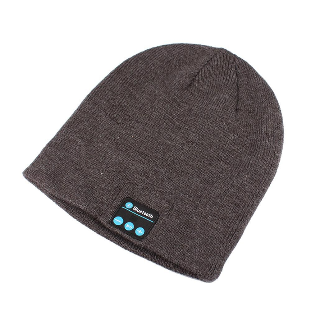 Gorro Bluetooth Music Com Microfone Gorro Headset Bluetooth